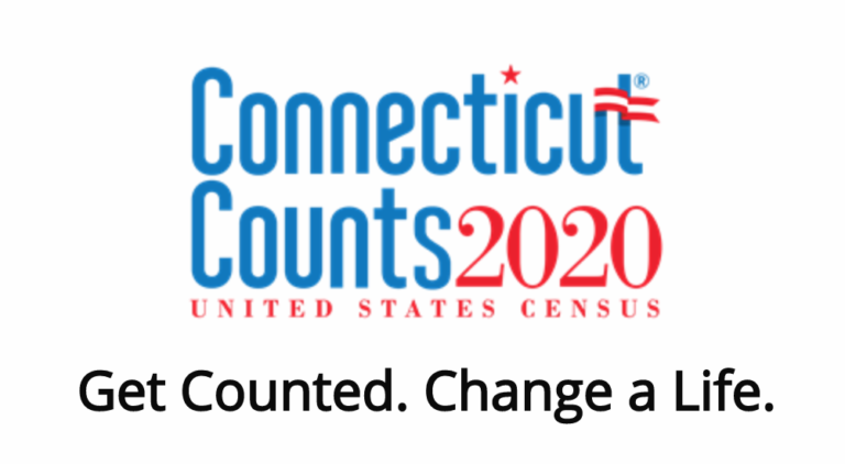 Connecticut Counts 2020. United States Census. Get Counted. Change a Life.