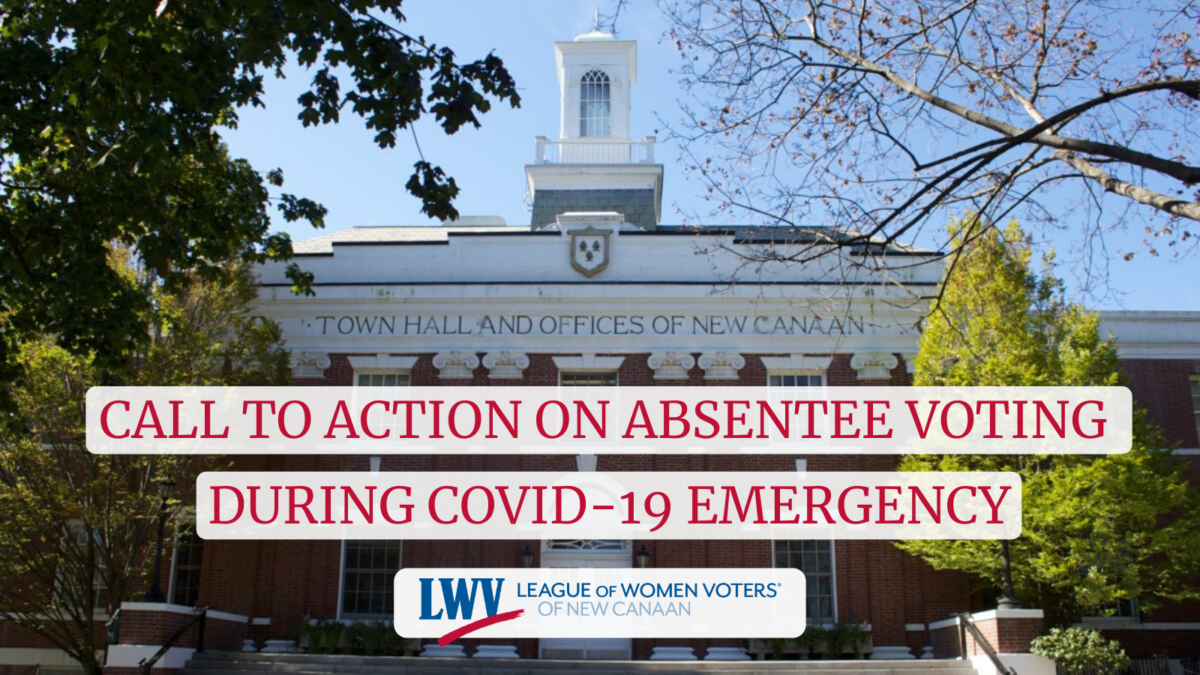 Call to action on absentee voting during covid-19 emergency