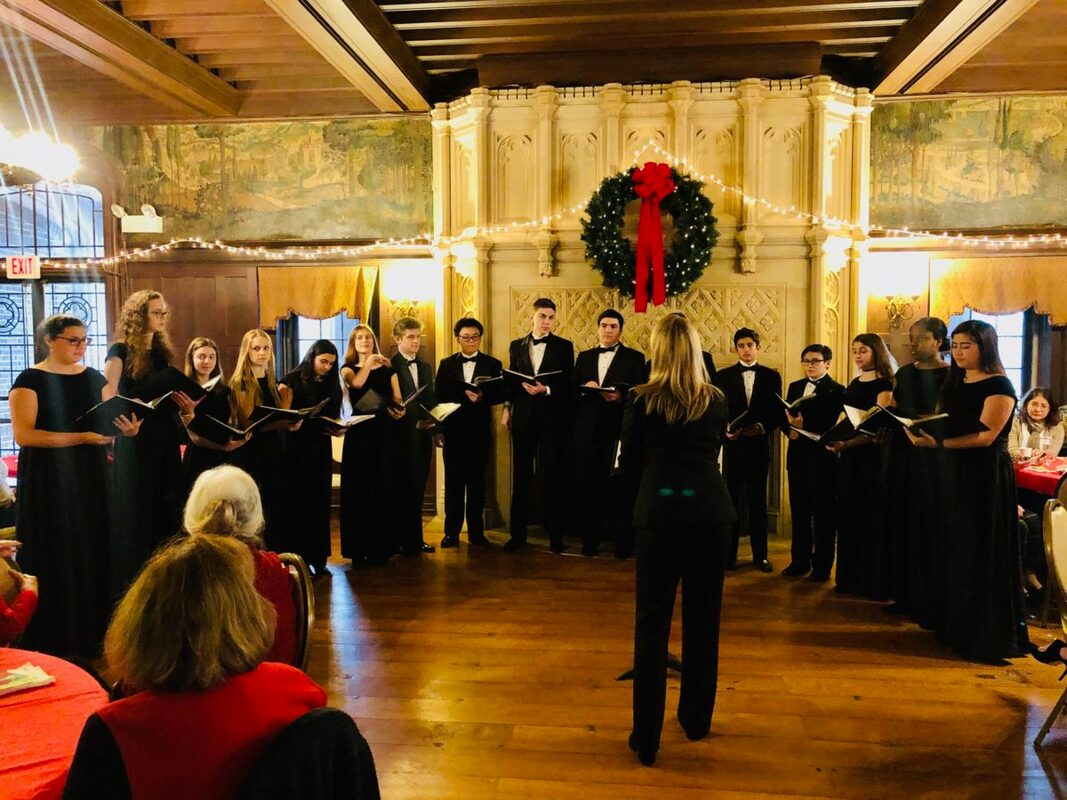 New Canaan High School Madrigals perform
